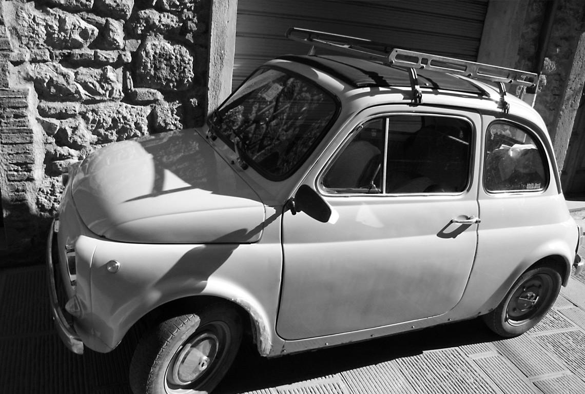 Myszka – legendarny Fiat 500